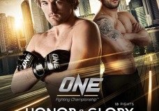 Chi Lewis Parry fight date announced: May 30th One FC Honour & Glory in Singapore