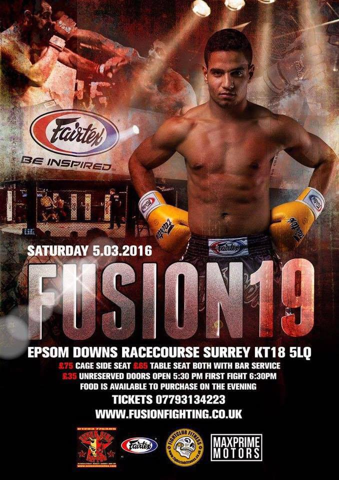 diego fusion fighting march 2016 poster